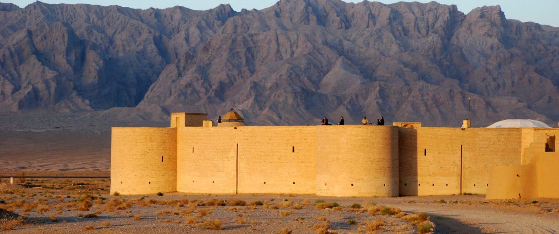 Ørkenbyen Yazd i Iran
