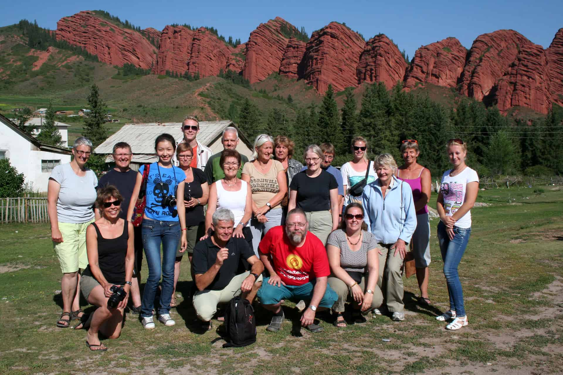 Grupperejse til Kirgisistan