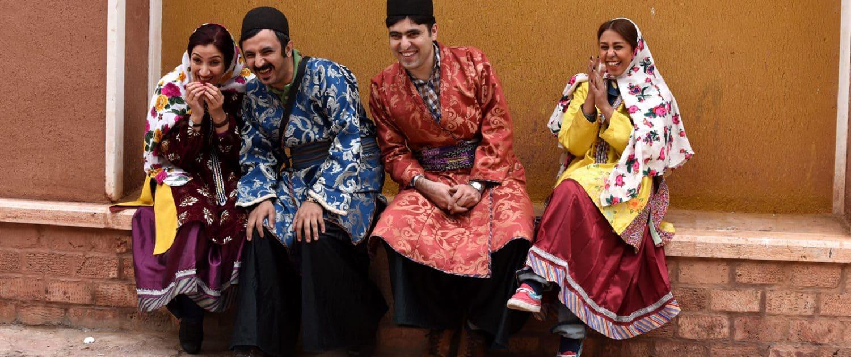 Glade mennesker i Iran
