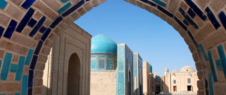 Shahizinda i Samarkand, Uzbekistan