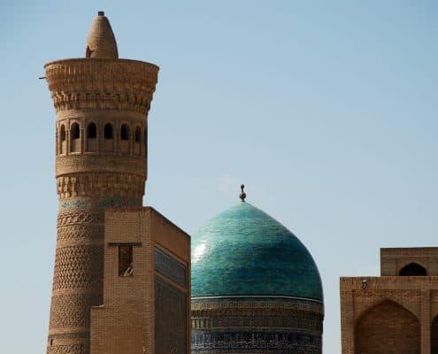 Kalyon Minaret i Bukhara