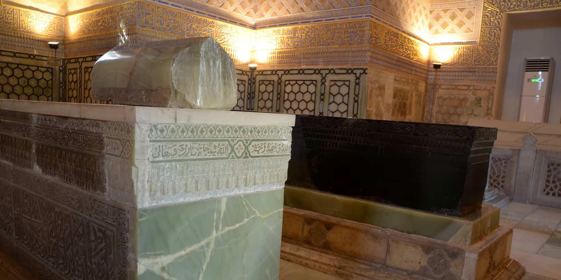 Timurs mausolæum i Guriemir i Samarkand