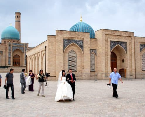 Tashkent i Usbekistan