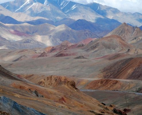 Storslåede bjerge i Centralasien