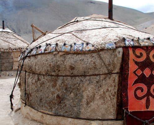 Jurte i Kirgisistan