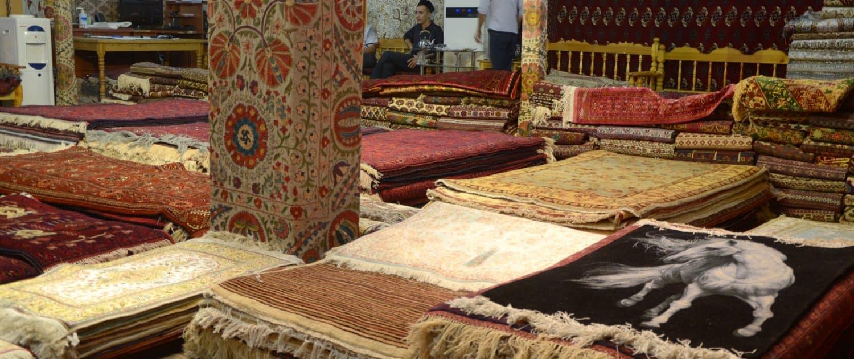 Tæpper i Bukhara