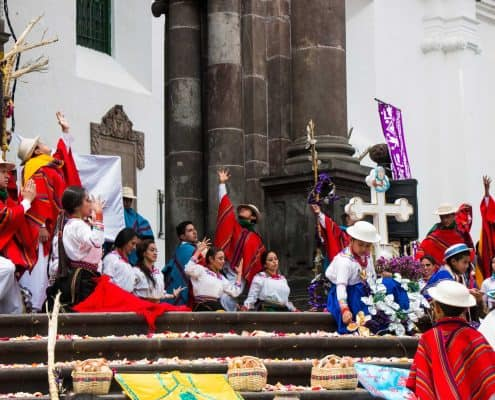 Plaza mayor I Quito