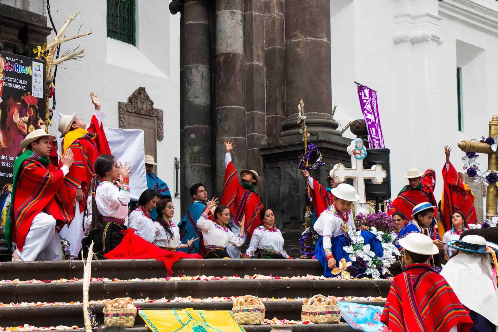 Plaza mayor I Quito