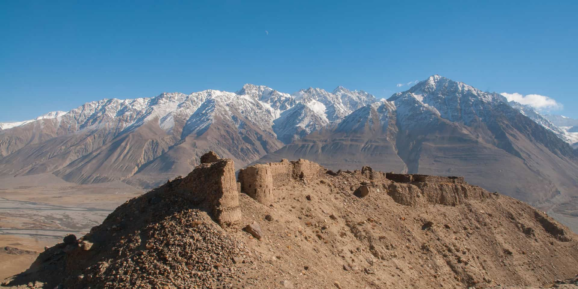 Yamchun Borg i Wakhan-korridoren
