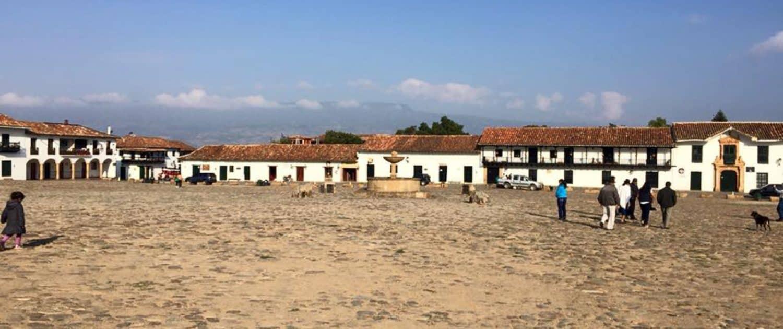 Villa De Leiva i Colombia