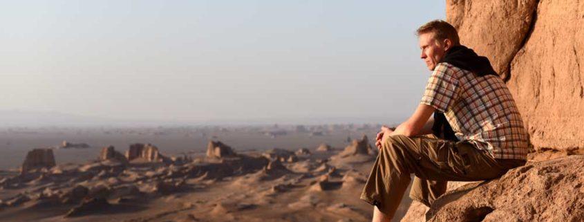 Rejseleder Søren Bonde i de Centralasiatiske bjerge