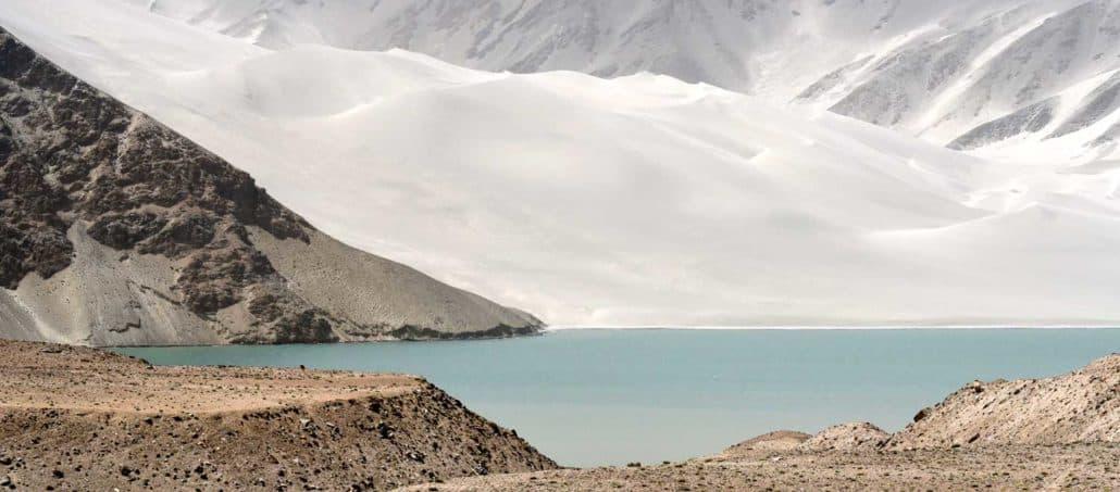 Søer og bjerge på Silkevejen