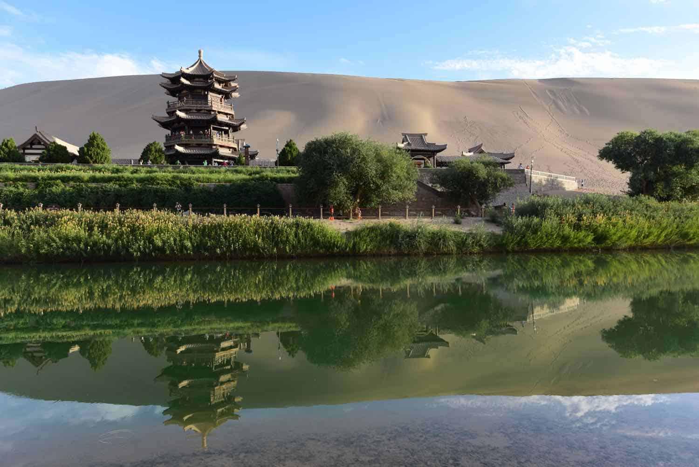 Halvmånesøen Dunhuang