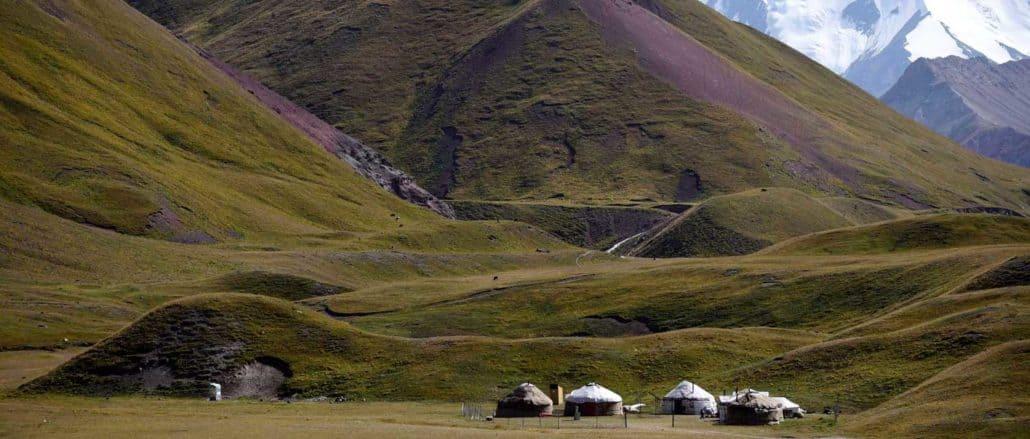 Bjerglandskaber langs Silkevejen