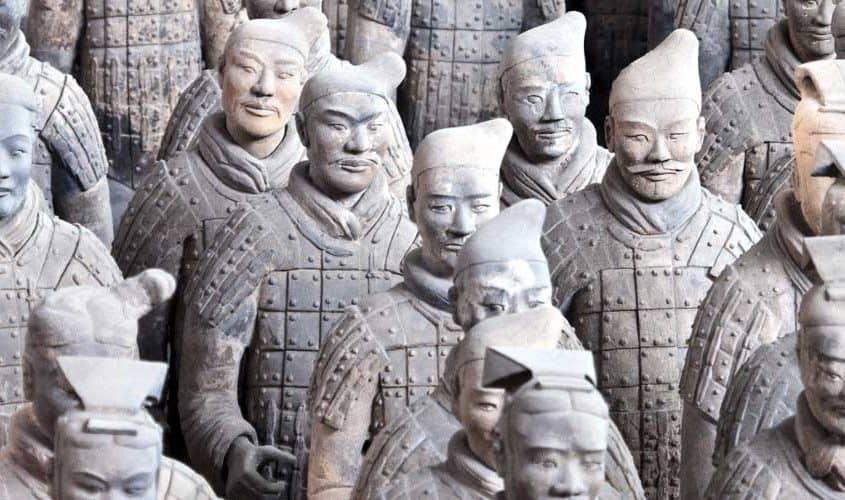 Terrakottahæren i Xian