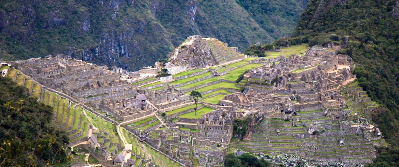 Macchu Pichu i Peru