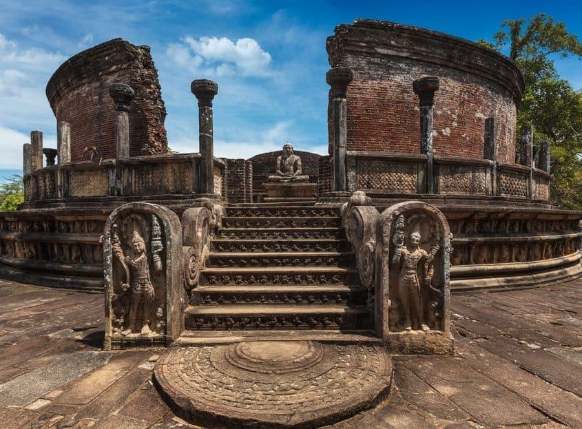 Polonnaruwa i Sri Lanka