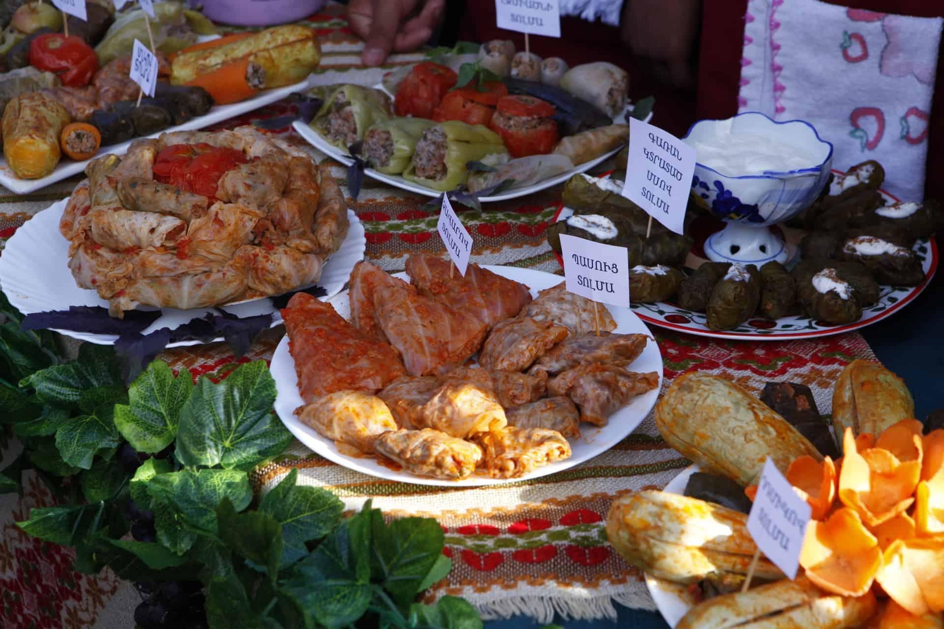 Lokale retter på rejser til Georgien og Armenien