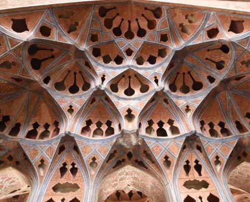 Musikrummet i Ali Qapu Palads i Isfahan
