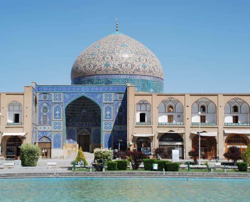 Emam-pladsen i Isfahan