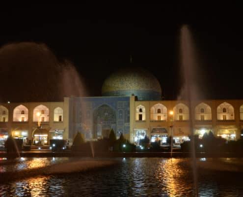 Emam-pladsen i Isfahan på Iranrejse