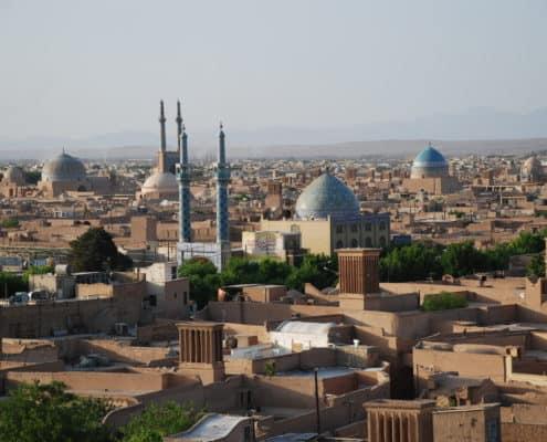 Yazd på kulturrejse til Iran