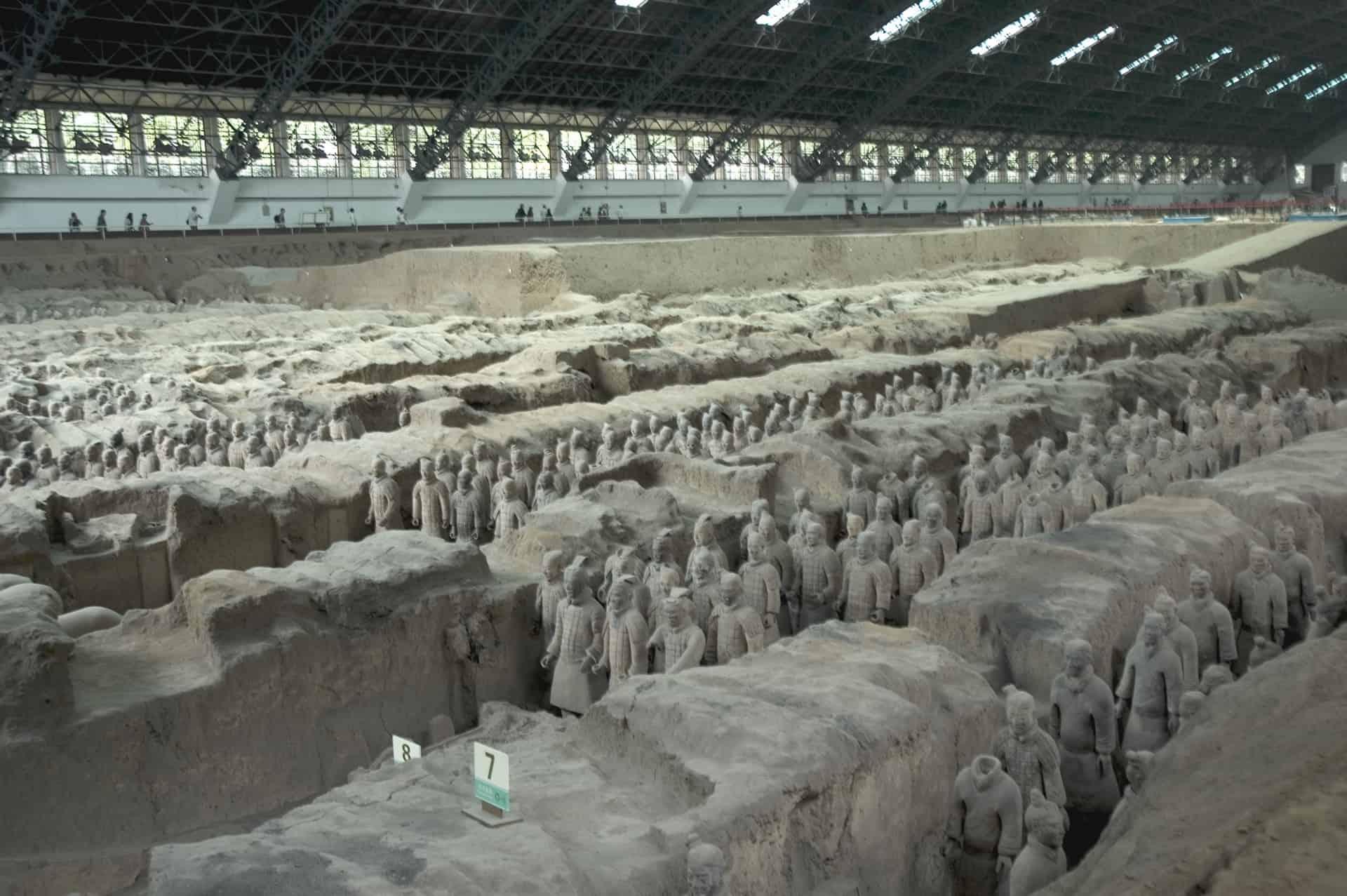 Terrakottahæren i Xi'an