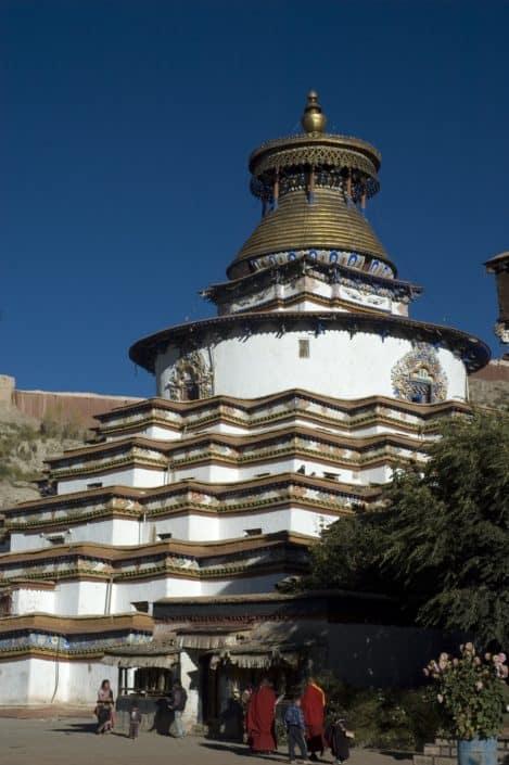 Gyanste stupa I Tibet