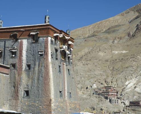 Sakya Kloster i Tibet
