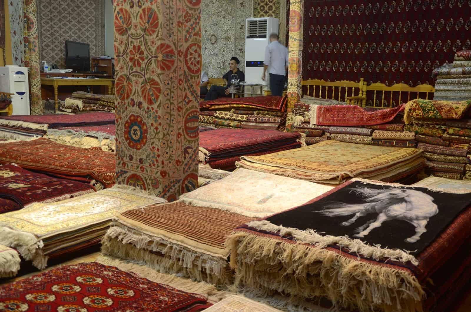 Persiske tæpper i Isfahan