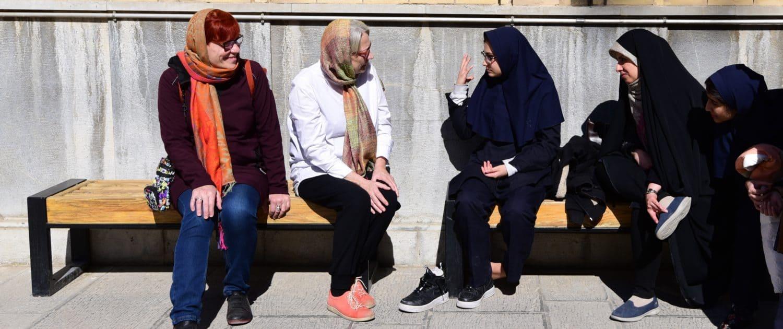 Danskere og iranere snakker sammen