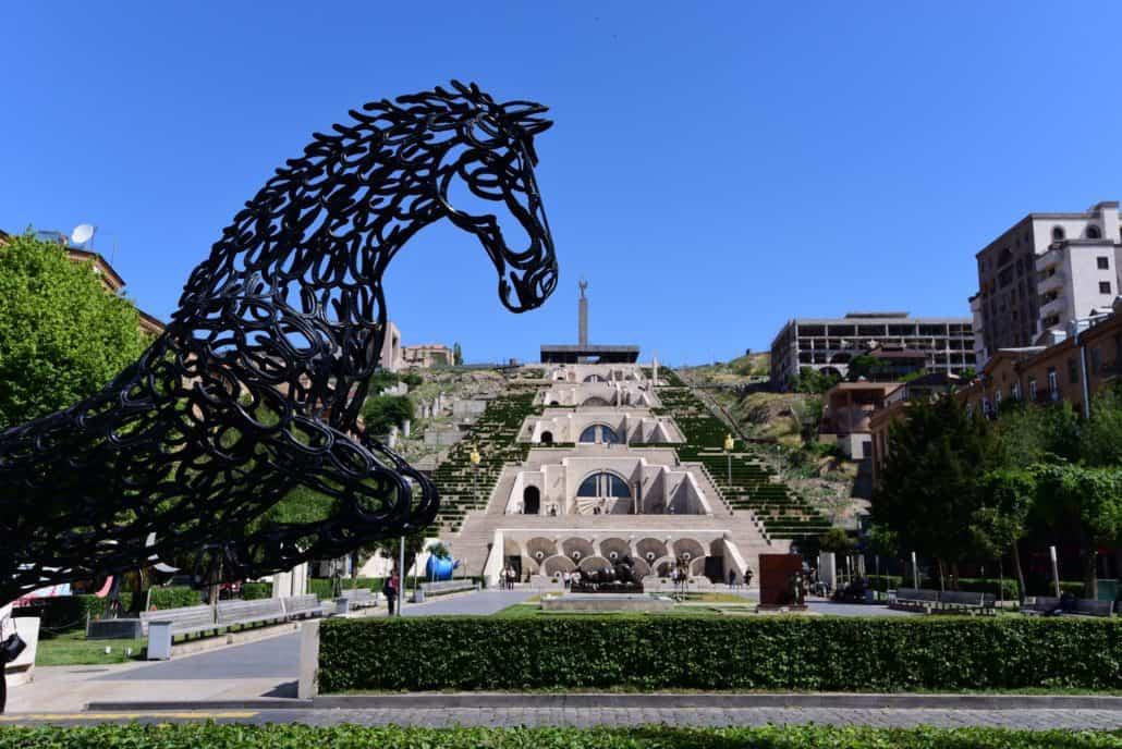Cafesijans fantastiske galleri og skulpturpark i Yerevan