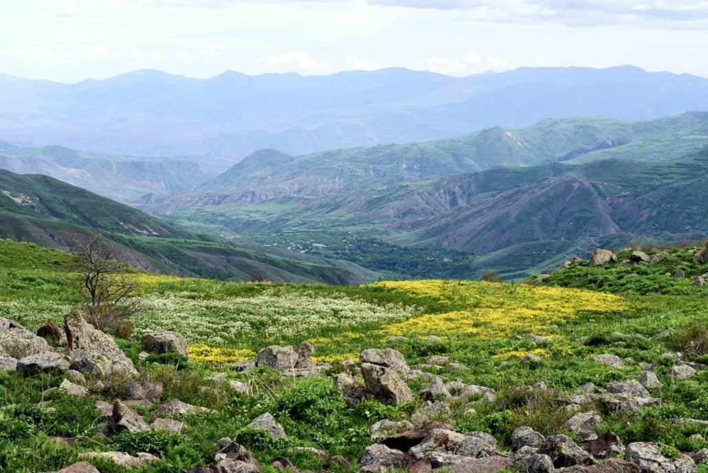 Natur i Kaukasus på rejser til Armenien og Georgien