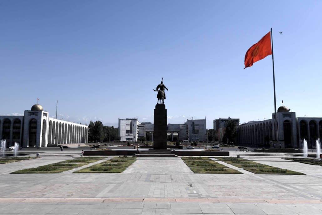 Bisjkek, hovedstaden i Kirgisistan