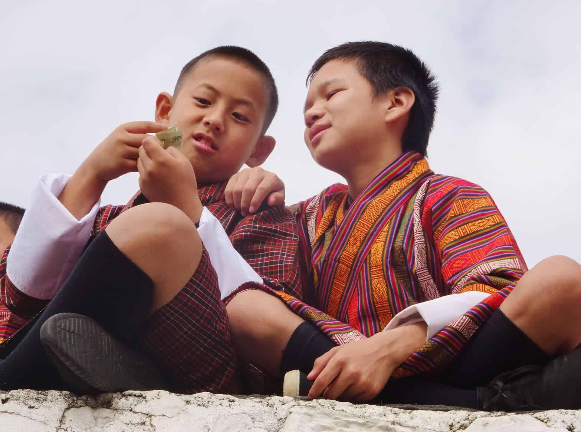 Bære leger i Bhutan