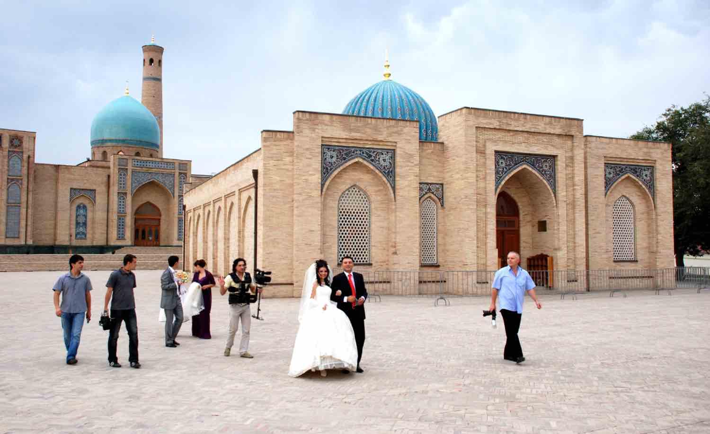 Bryllup i Usbekistan