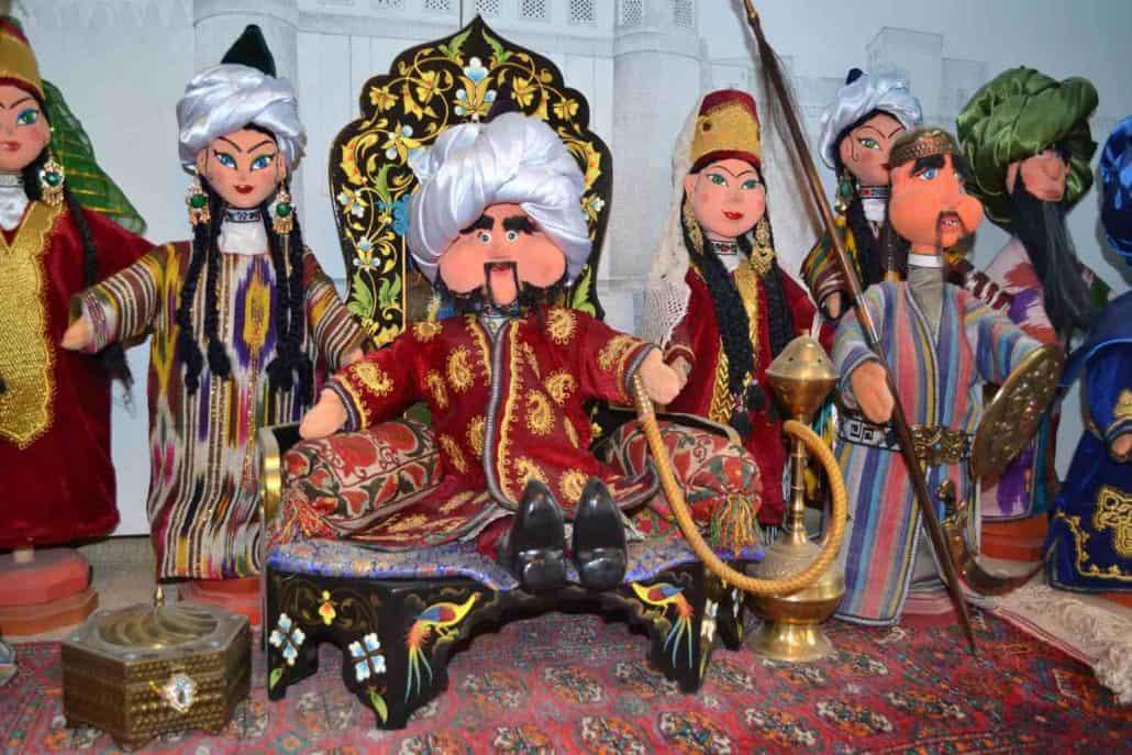 Dukker i Samarkand, Uzbekistan