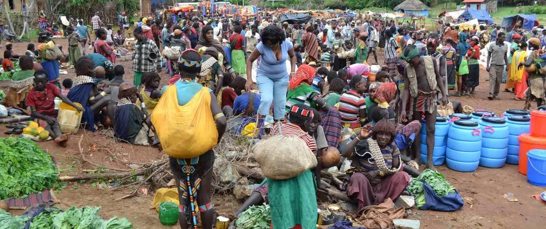 Rejser til Etiopien - lokalt stammefolk