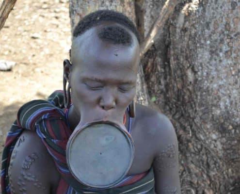 Mursikvinde på rejser til Etiopien