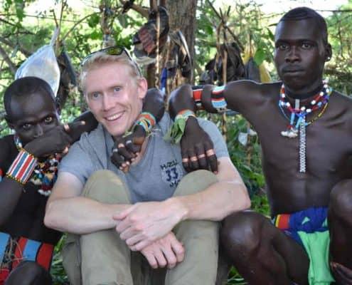 Søren Bonde hos bannafolket på rejser til Etiopien