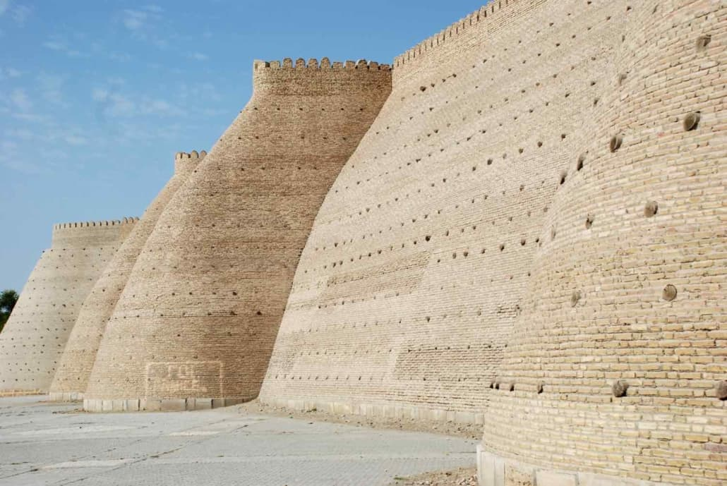 citadellet i Bukhara Uzbekistan