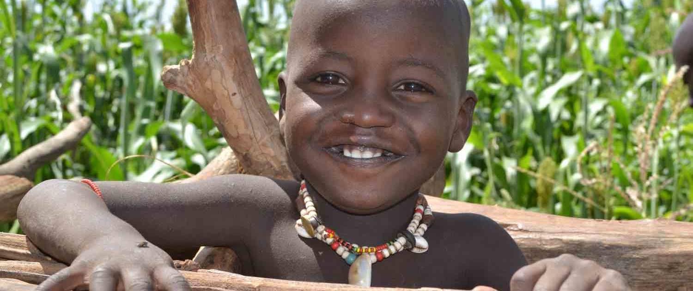 Lille dreng i Etiopien
