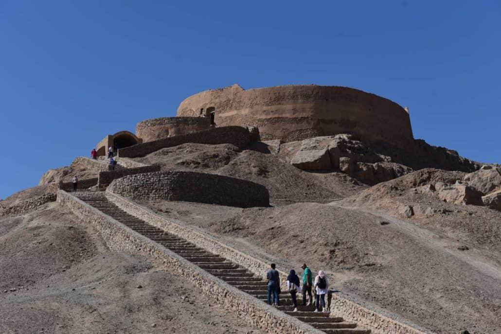 Ørkenbyen Yazd på rejser til Iran
