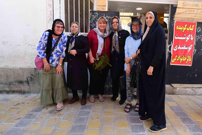 Grupperejser på rejse til Iran