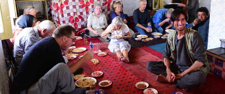 På husbesøg i Afghanistan