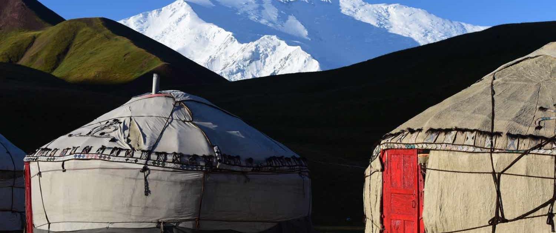 Kirgisiske jurter