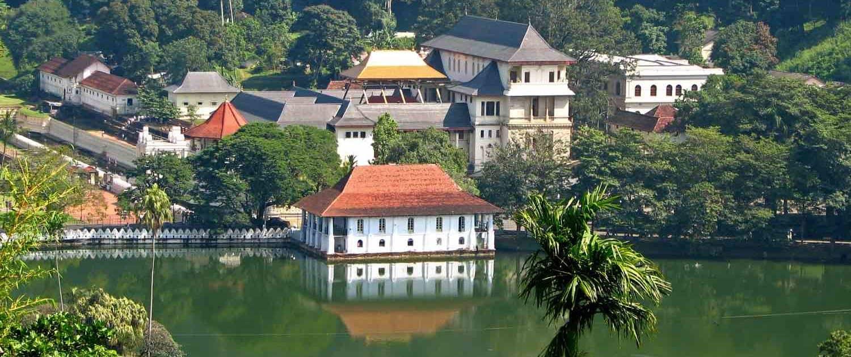 Hus på vandet i Sri Lanka