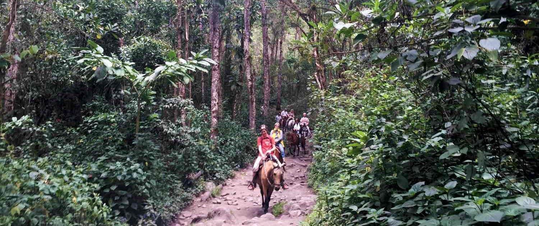 På hesteryg i Ecuador