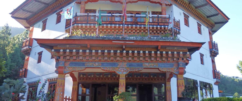 Tempel på rejser til Bhutan