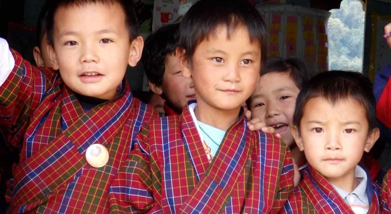 Bhutanesiske børn